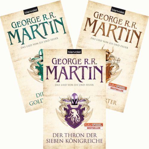 GEORGE R.R. MARTIN Das Lied von Eis und Feuer 3,4,5