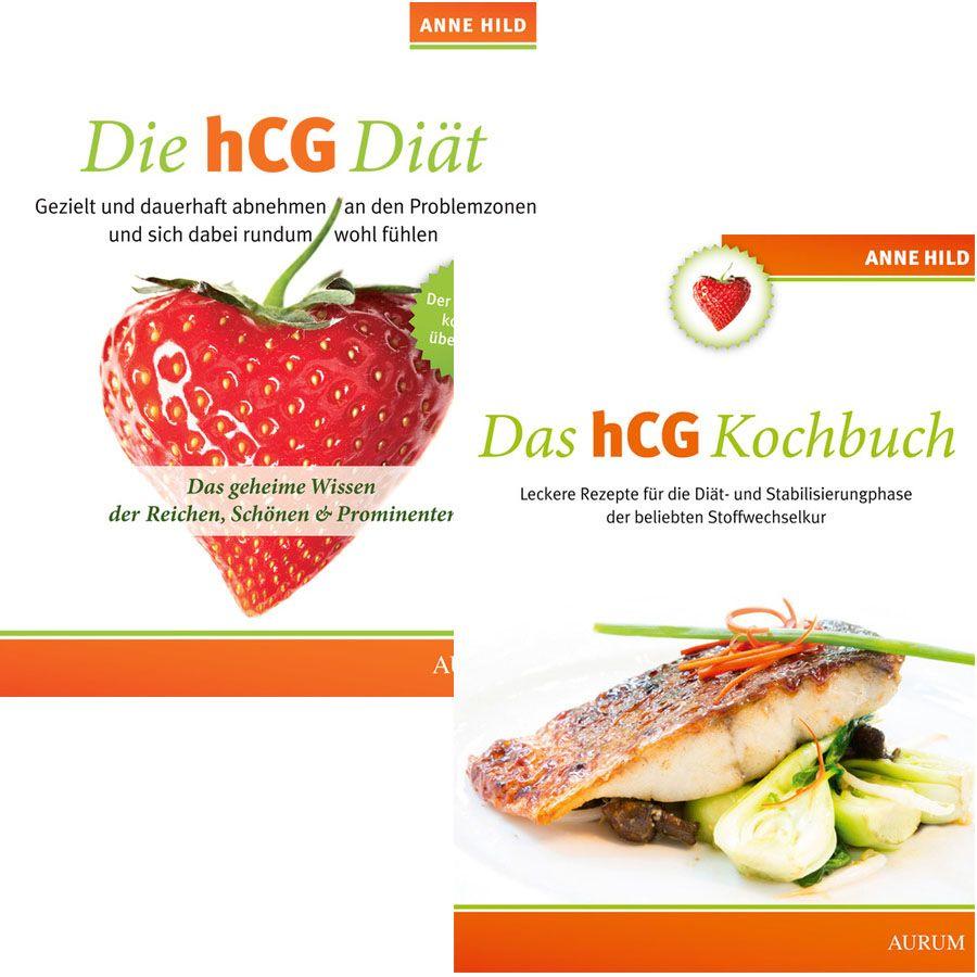 ANNE HILD Die hcG-Diät + Das hcG-Diät-Kochbuch SET