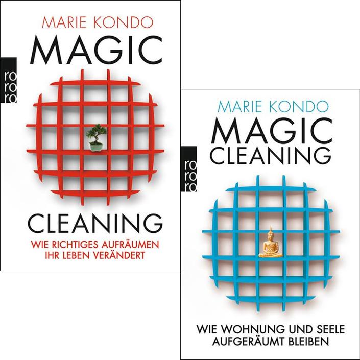marie kondo magic cleaning 1 2 im set ebay. Black Bedroom Furniture Sets. Home Design Ideas