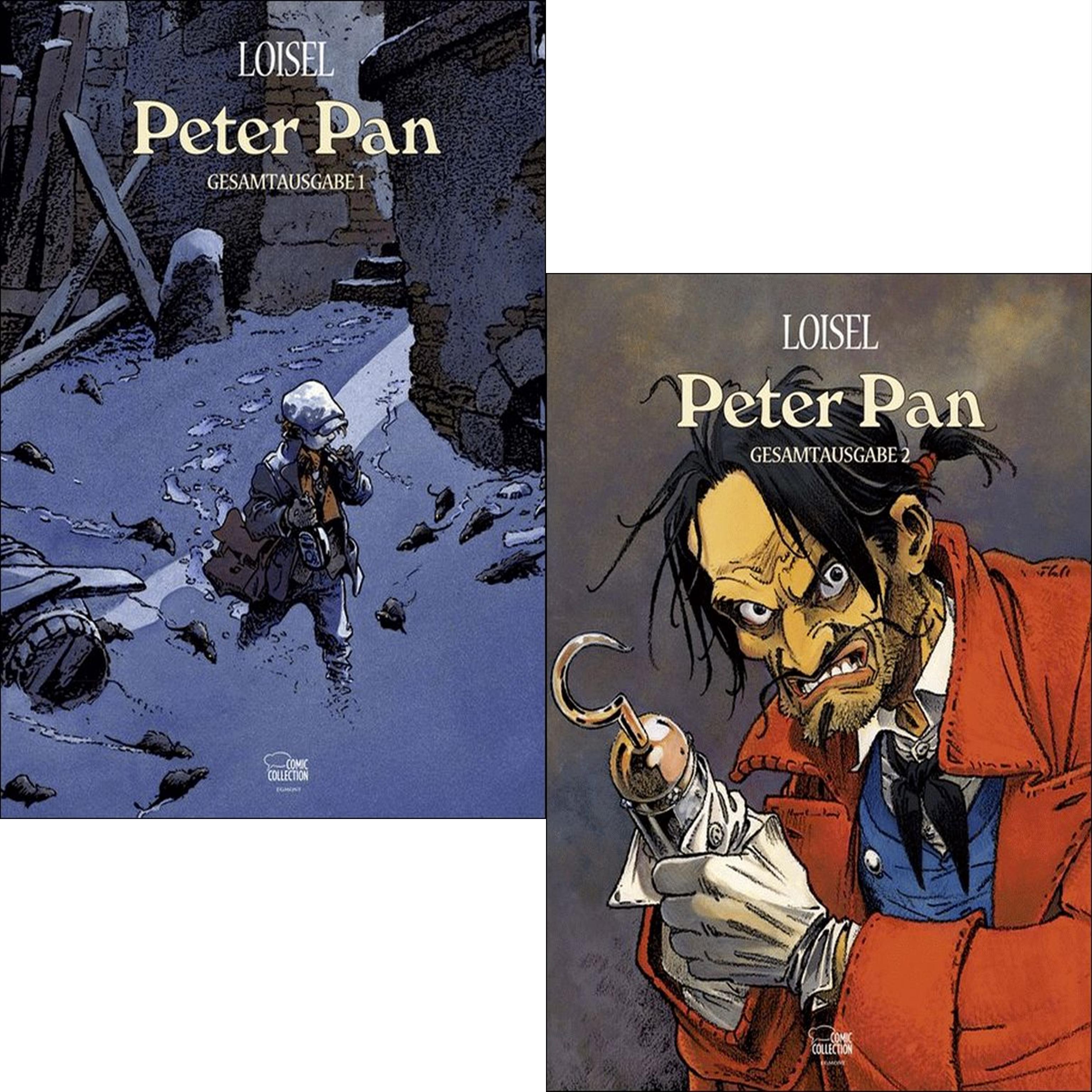 PETER PAN Gesamtausgabe 1 + 2 IM SET