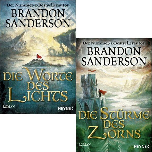 BRANDON SANDERSON Die Sturmlicht-Chroniken 3 + 4 IM SET