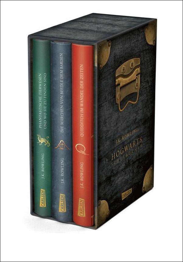 J. K. ROWLING Die Hogwarts-Schulbücher im Schuber - HARRY  POTTER