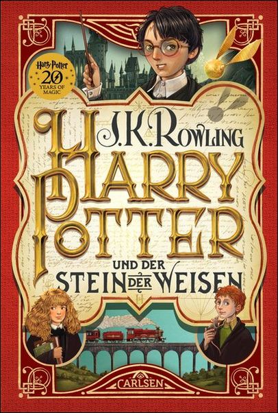 J- K. ROWLING Harry Potter 1 und der Stein der Weisen