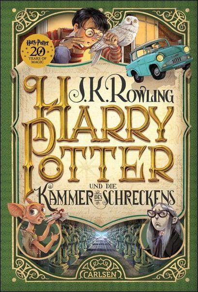 J- K. ROWLING Harry Potter 2 und die Kammer des Schreckens