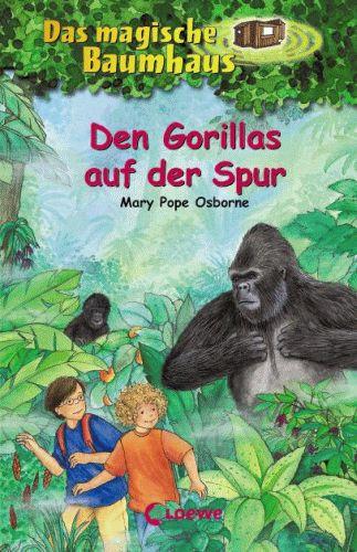 DAS MAGISCHE BAUMHAUS 24 Den Gorillas auf der Spur